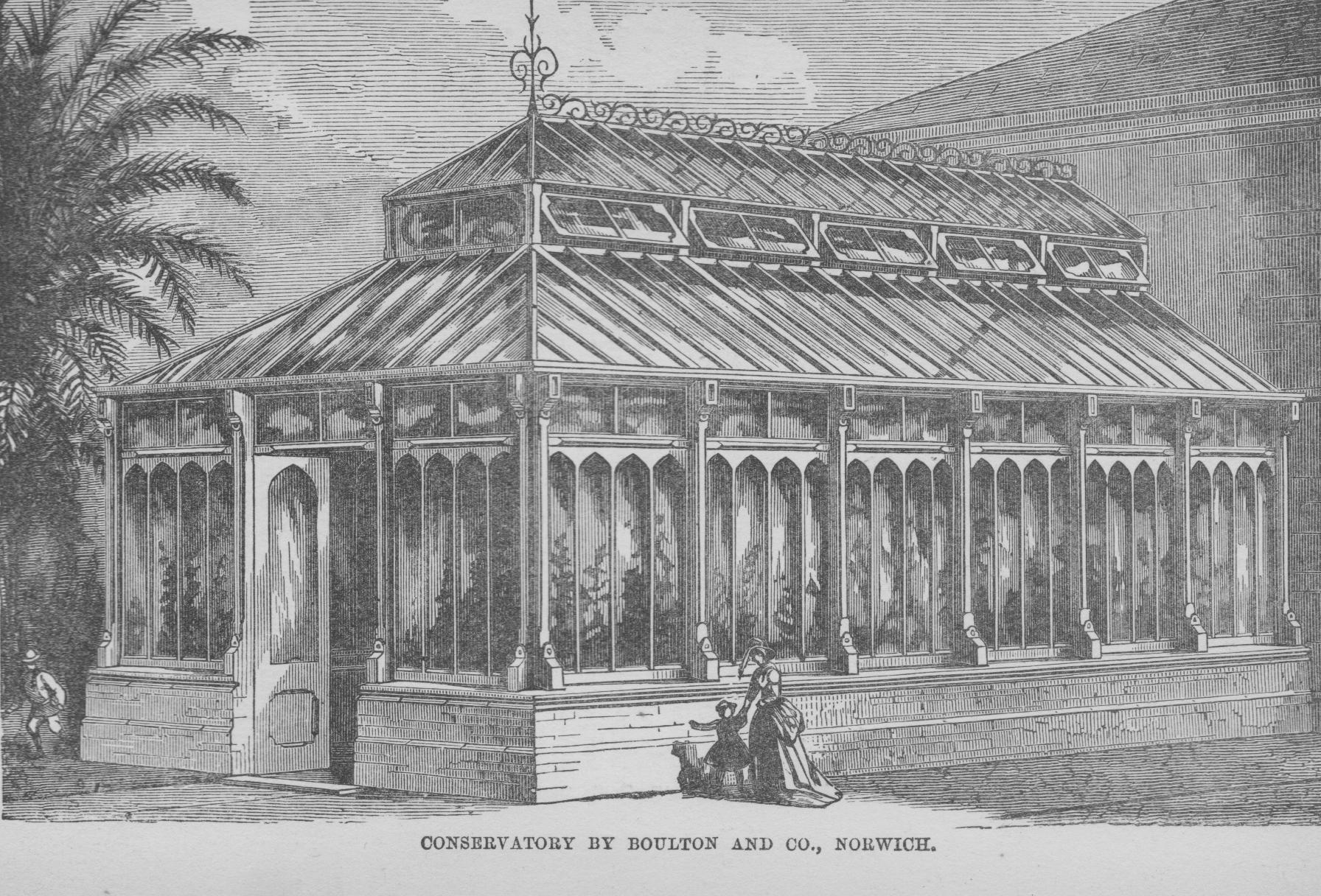 Greenhouse Boulton and-Paul-HibberdsThe Amateurs Greenhouse